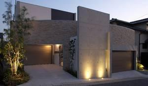 林泰介建築研究所의  주택, 모던 돌
