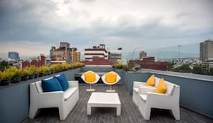 Terrazas de estilo  por MAAD arquitectura y diseño