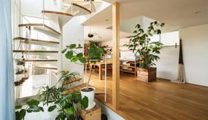 玄關、走廊與階梯 by 藤森大作建築設計事務所
