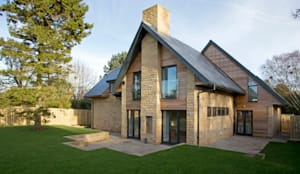 Residential Development, West Yorkshire: eclectic Houses by Wildblood Macdonald