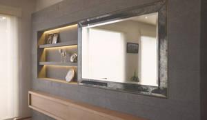 Salas / recibidores de estilo clásico por CuboB Arquitectura de Interiores