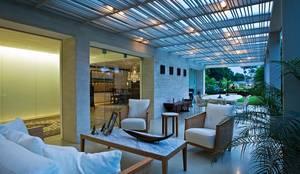 Casa MR: Terrazas de estilo  por oda - oficina de arquitectura,