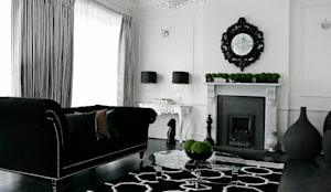 Boulevard, Chigwell: modern Living room by Boscolo