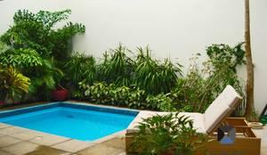 PORTO Arquitectura + Diseño de Interiores:  tarz Bahçe havuzu