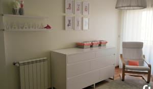 Quarto Bebé M, 2015 - Braga: Quartos de criança  por Ci interior decor