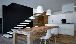 modern Dining room by EV+A Lab Atelier d'Architettura & Interior Design