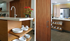 Cocinas de estilo moderno por KDF Arquitectura