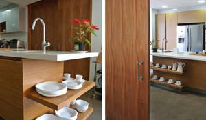 Projekty,  Kuchnia zaprojektowane przez KDF Arquitectura