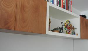 Estudios y oficinas de estilo moderno por KDF Arquitectura