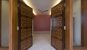 Bangalore Villas:  Windows by Spaces and Design