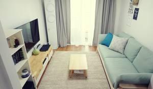 غرفة المعيشة تنفيذ homelatte