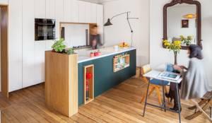 Cocinas de estilo escandinavo por BKBS