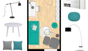 konzept f r einen kunden schlaf und arbeitszimmer. Black Bedroom Furniture Sets. Home Design Ideas