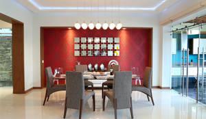 Comedores de estilo moderno por arketipo-taller de arquitectura