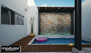 Piscine de style de style Moderne par Modulor Arquitectura