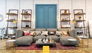 Penintdesign İç Mimarlık  – Living Room:  tarz Oturma Odası