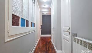 minimalistic Corridor, hallway & stairs by Dröm Living