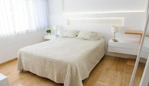غرفة نوم تنفيذ Trua arqruitectura