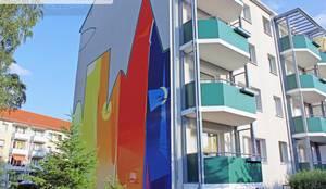 Fassadensanierung Fassadenkunst Fassadenbild Giebelkunst