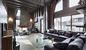 Projekty,  Salon zaprojektowane przez artstyle
