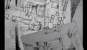 Projekty,  Salon zaprojektowane przez consultarqui,