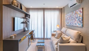 modern Living room by Carpaneda & Nasr