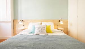 Dormitorios de estilo escandinavo por Homestories