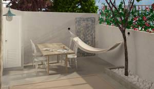 Terrazas de estilo  de Lagom studio