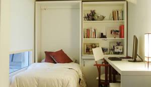 Dormitorios de estilo  por MINBAI,