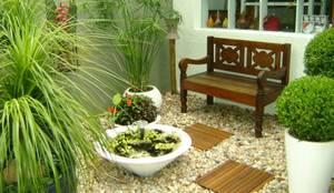 حديقة تنفيذ MC3 Arquitetura . Paisagismo . Interiores