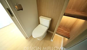 Baños de estilo escandinavo de 디자인 멜로 (design mellow)