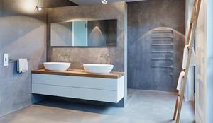Projekty,  Łazienka zaprojektowane przez HONEYandSPICE innenarchitektur + design