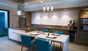 Cocinas de estilo minimalista por arketipo-taller de arquitectura
