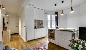 Transition Interior Design : modern tarz Mutfak
