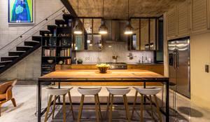 Cocinas de estilo ecléctico de Taller Estilo Arquitectura