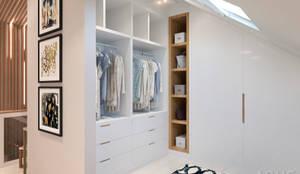 Closets de estilo  por Студия авторского дизайна ASHE Home,