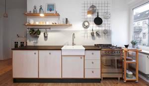minimalistic Kitchen by Happyhomes