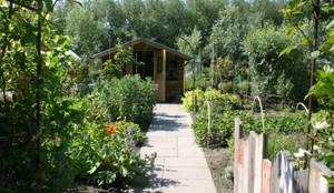 Moestuin: landelijke Tuin door Carla Wilhelm