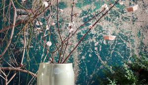 Zweige des Schneeball als duftende Aufhängung:  Garten von Pflanzenfreude.de,Klassisch