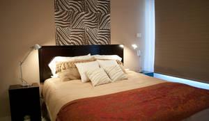 Dormitorios de estilo ecléctico de Diseñadora Lucia Casanova