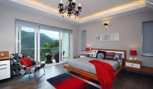 Cuartos de estilo moderno por Savio and Rupa Interior Concepts