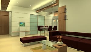 Living room: modern Living room by A.S.Designs