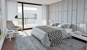 Dormitorios de estilo moderno por MyWay design