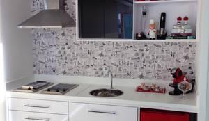 Projekty,  Kuchnia zaprojektowane przez PILOTTIZ ARQUITETURA E DESIGN