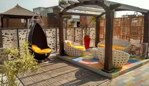 Concept Terraces :  Terrace by DG DESIGNER LANDSCAPES  LLP