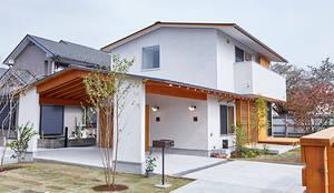 Maisons de style de style Scandinave par 一級建築士事務所co-designstudio