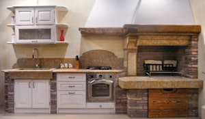 NOSTRE REALIZZAZIONI - cucine in muratura/taverne di SALM Caminetti ...