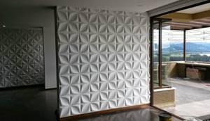 PAREDES EN 3D : Paredes de estilo  por dekora2013