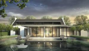 Eigentijdse villa zeist von denoldervleugels architects & associates