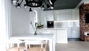 www.minimoo.pl: styl , w kategorii Kuchnia zaprojektowany przez MINIMOO Architektura Wnętrz